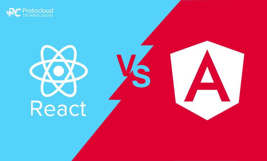 React vs Angular Comparison between both