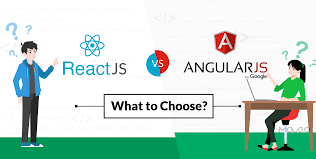 comparison between react vs angular
