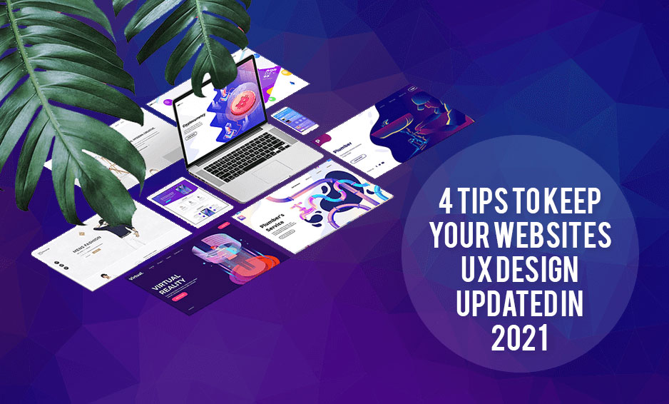 Tips to keep your website ui design updated