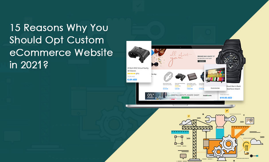 Custom eCommerce Website Development