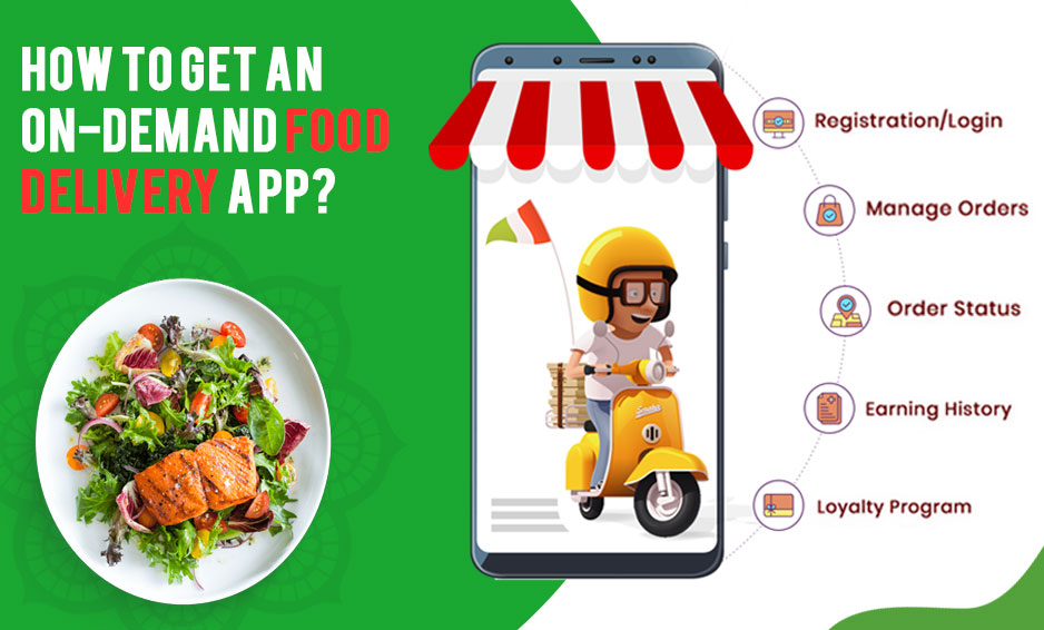 Food delivery app like Uber eats, Zomato