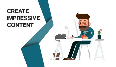 Create impressive content strategies