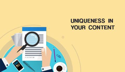 Unique Content Marketing Strategy