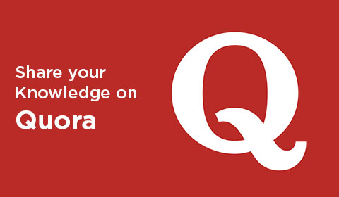 Share your Knowledge on Quora to get more traffic