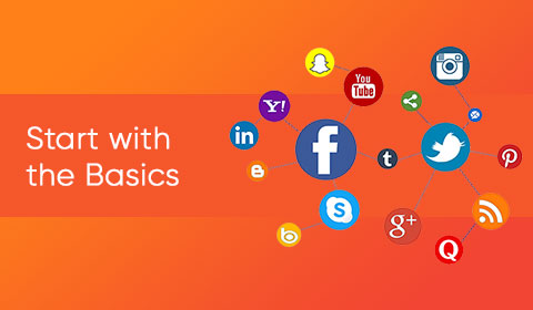 Start with the basic to social media marketing
