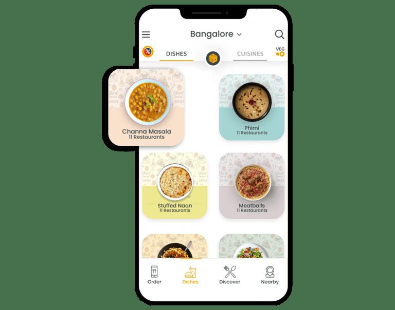 food app menu