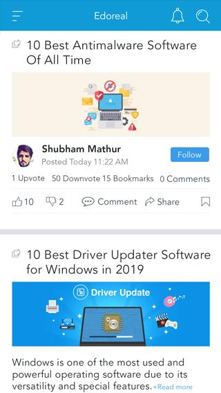education mobile app blogs