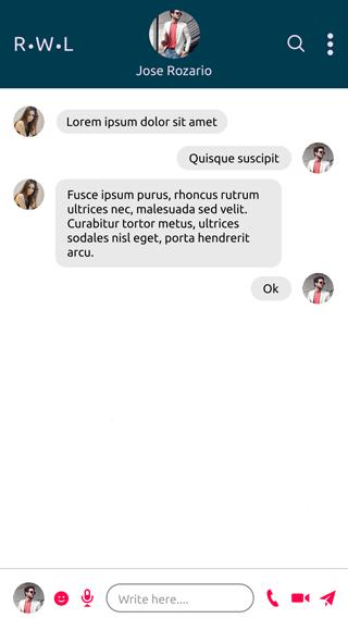 online chatting app chat inbox