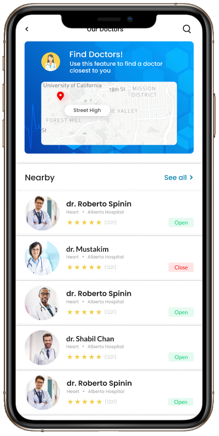 doctor appointment app solutions
