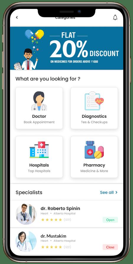 doctor booking app