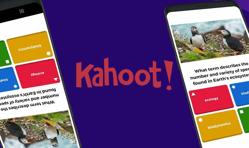 kahoot app logo in a image