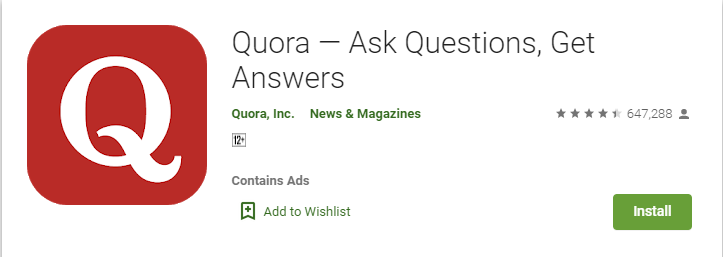 Question & Answer App